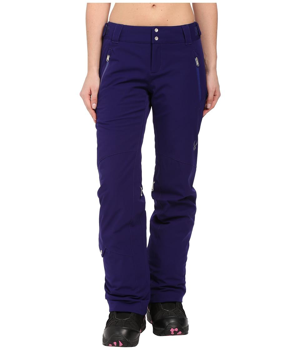 Spyder The Traveler Athletic Fit Pants (Evening) Women