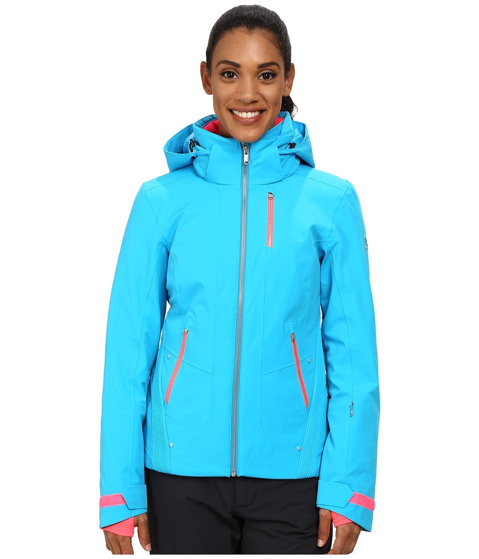 Spyder - Pandora Jacket (Riviera/Riviera/Bryte Pink) Women's Coat