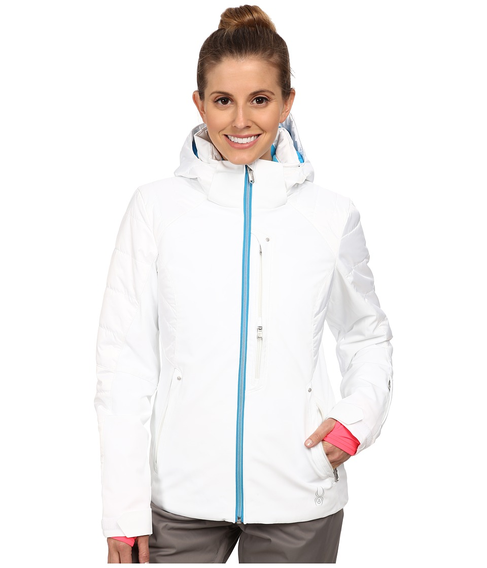 Spyder - Facyt Jacket (White/Riviera/White) Women