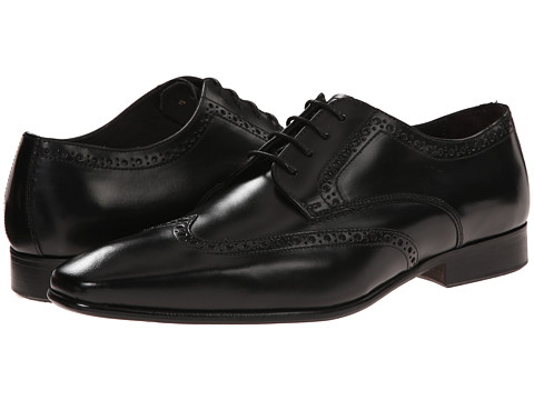 Testoni BASIC - D45938 Derby Cuoio Cordoba Calf (Nero Cuoio Nubuck) Men's Shoes