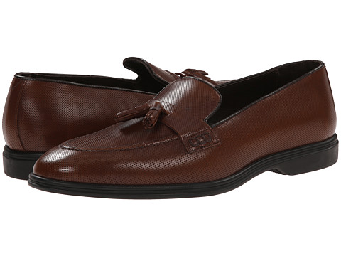 Testoni BASIC - D45939 Gomma Cordoba Calf Slip-On (Tan Gomma) Men's Slip-on Dress Shoes
