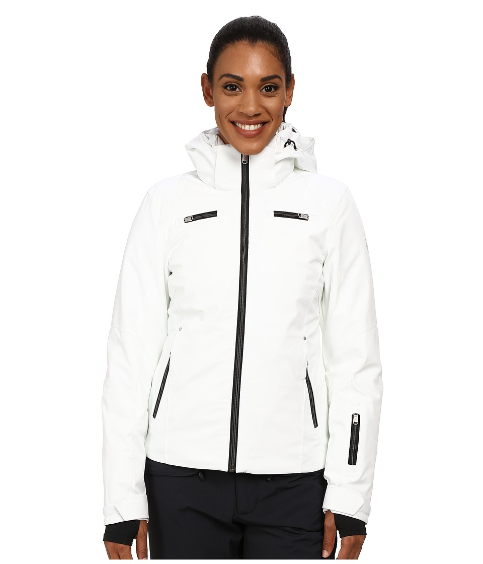 Spyder - Tresh Jacket (White/Black) Women's Coat
