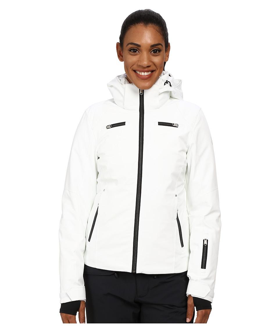 Spyder - Tresh Jacket (White/Black) Women's Coat