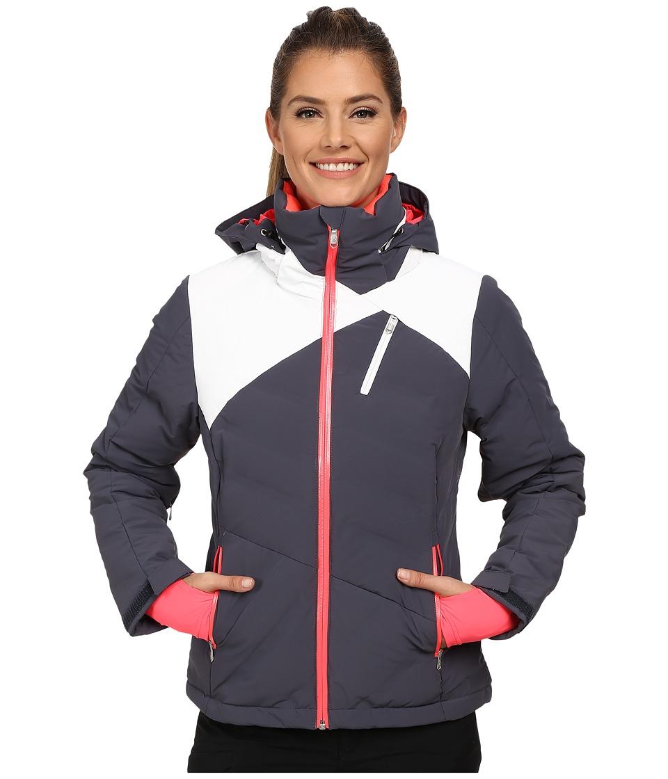 Spyder - Breakout Down Jacket (Depth/White/Bryte Pink) Women's Coat
