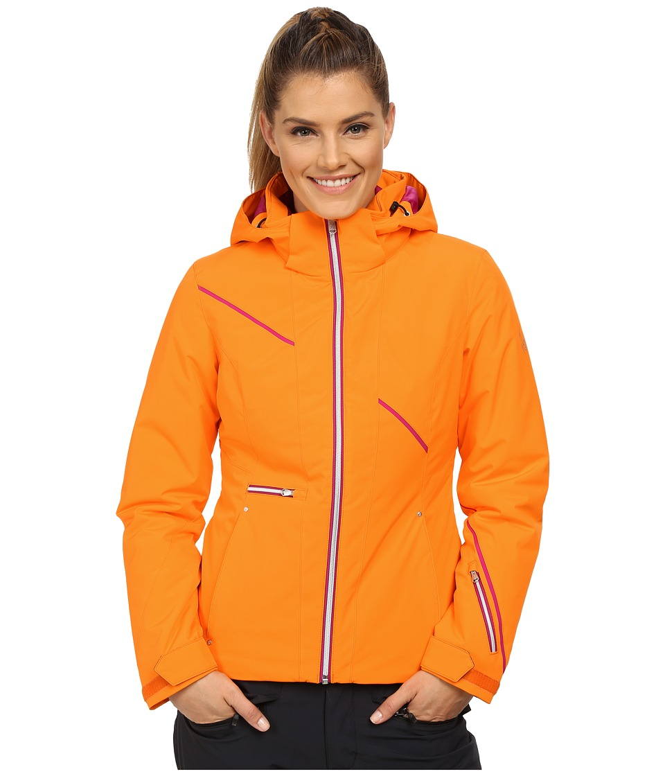Spyder - Prevail Jacket (Edge/Wild/Bryte Pink) Women's Coat