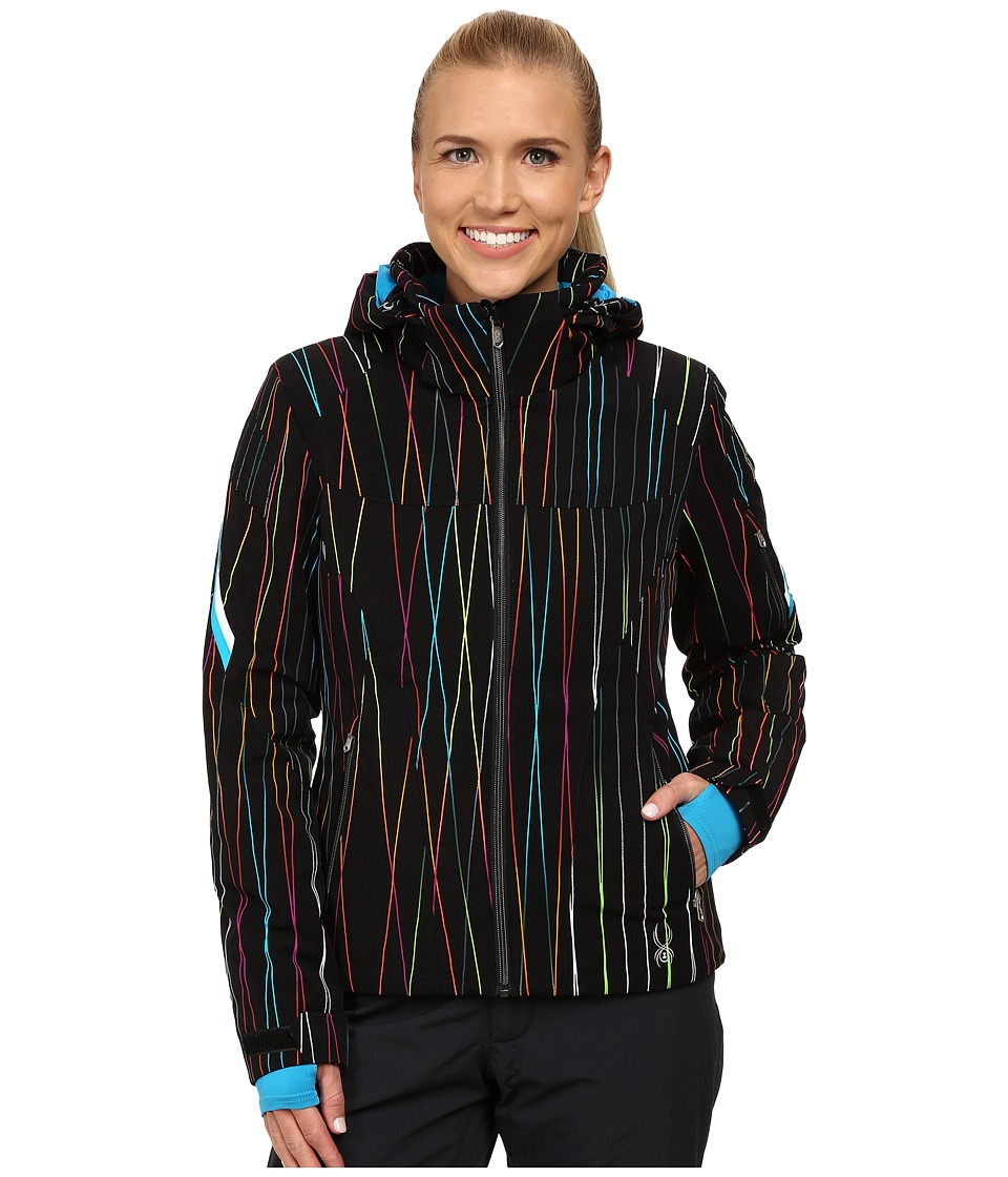 Spyder - Project Jacket (Orycle Print/Black) Women's Coat