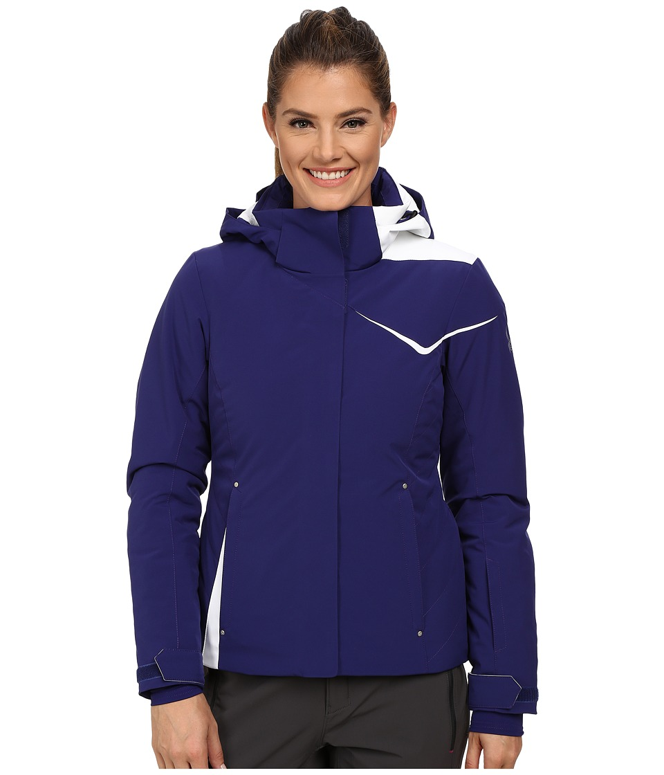 Spyder - Amp Jacket (Evening/White) Women