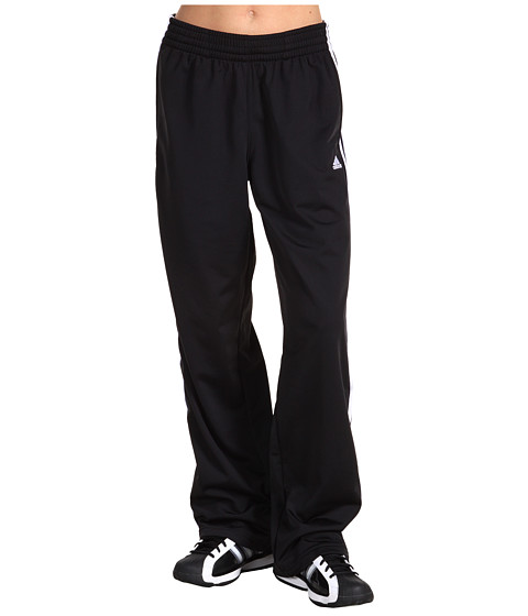 adidas - 3-Stripes Pant (Black/White/White) Women