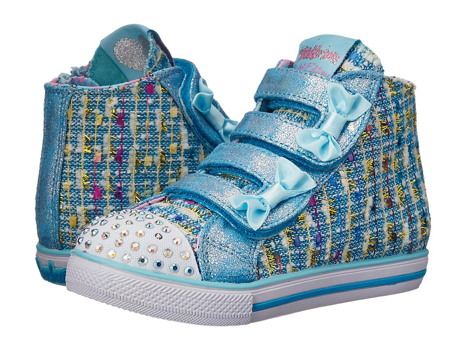 SKECHERS KIDS - Lil Primpers (Toddler/Little Kid) (Light Blue) Girl