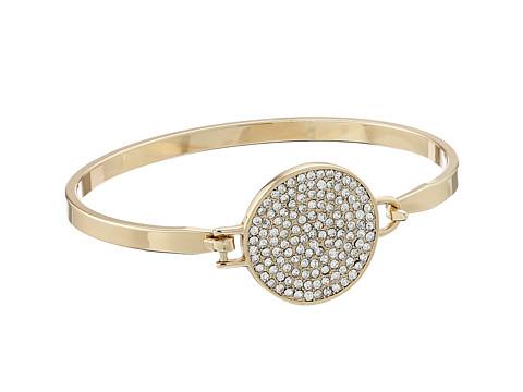 Rebecca Minkoff - Pave Disc Bracelet (Gold Toned/Crystal) Bracelet