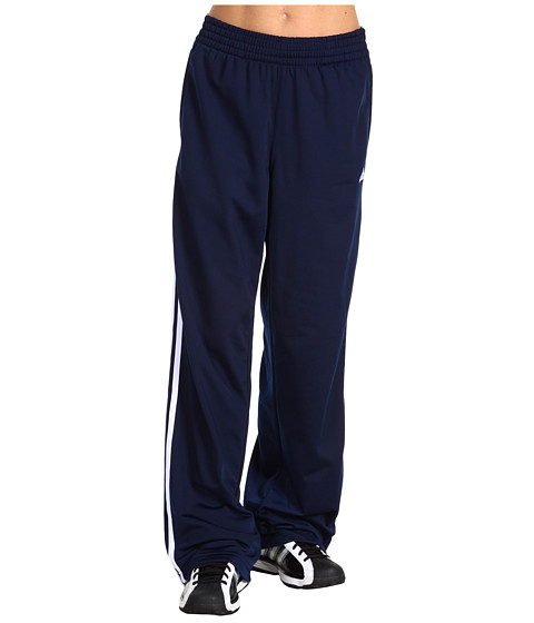 adidas - 3-Stripes Pant (Dark Indigo/White/White) Women's Workout