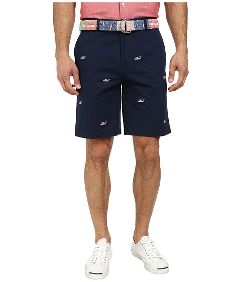 Vineyard Vines - Whale Emb Twill Club Short (Blue Blazer) Men