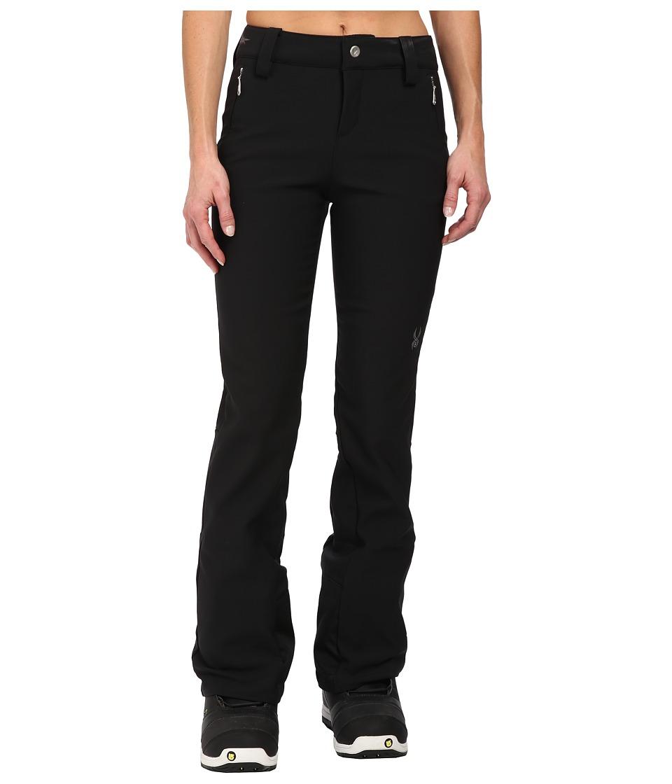 Spyder - Orb Softshell Pants (Black) Women's Outerwear