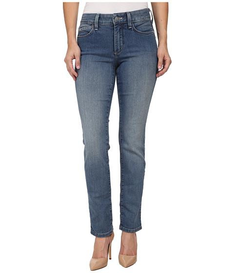 NYDJ Petite - Petite Samantha Slim Straight (Palmdale Wash) Women's Jeans