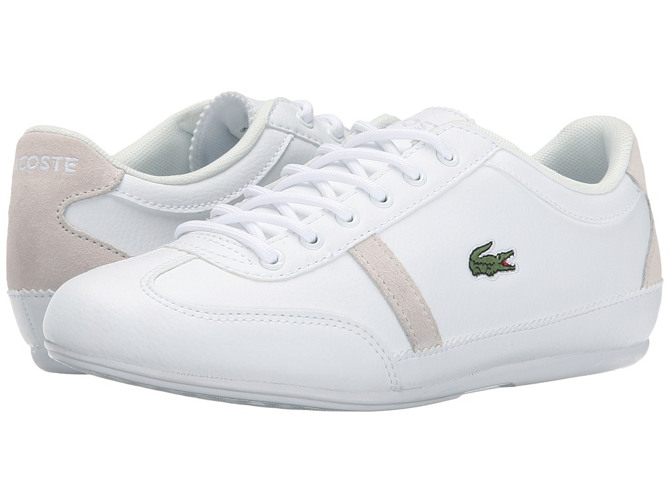 Lacoste Kids - Misano Kids ELY FA15 (Little Kid/Big Kid) (White) Boys Shoes