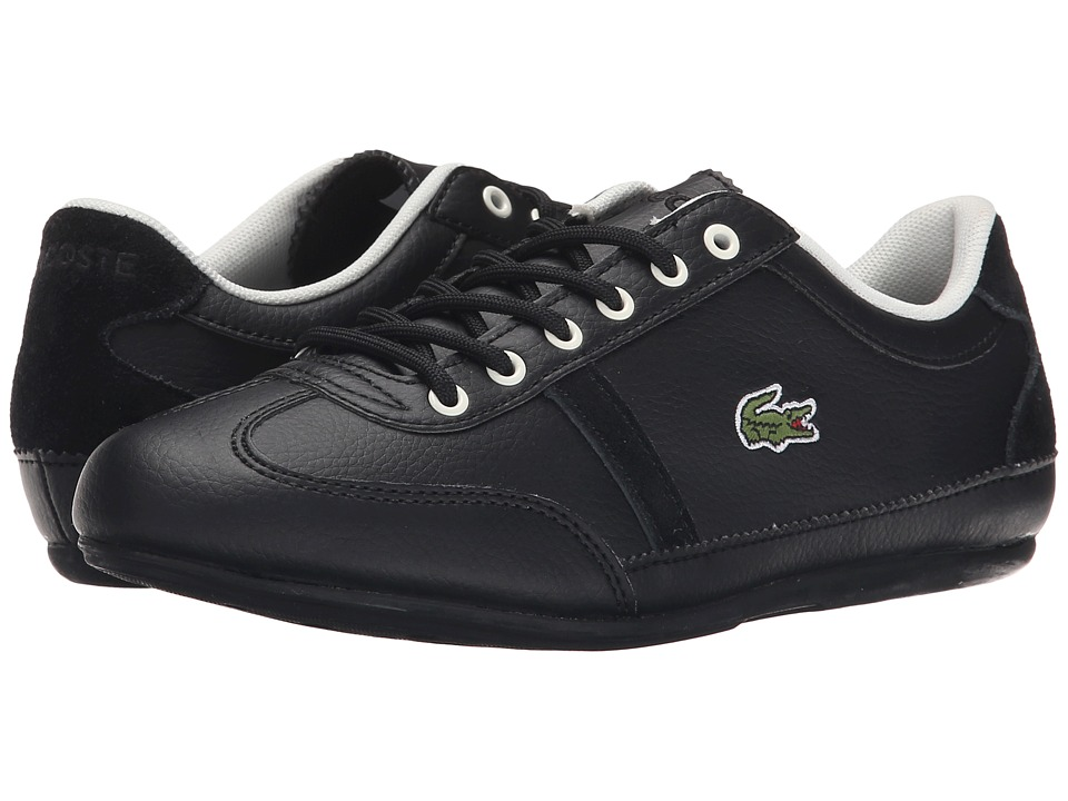 Lacoste Kids - Misano Kids ELY FA15 (Little Kid/Big Kid) (Black) Boys Shoes
