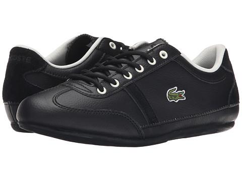 Lacoste Kids - Misano Kids ELY FA15 (Little Kid/Big Kid) (Black) Boys Shoes