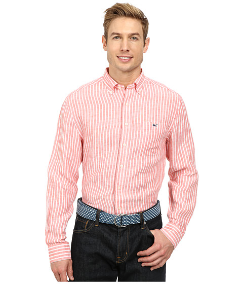 Vineyard Vines - Classic Tucker Shirt-Stoneacre (Fruit Punch) Men