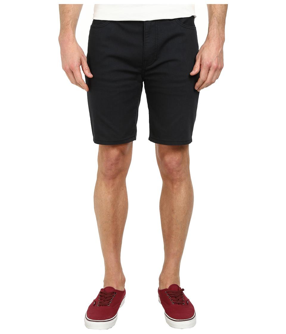 Hurley - 84 Slim Twill Shorts (Black) Men