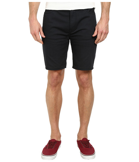 Hurley - 84 Slim Twill Shorts (Black) Men