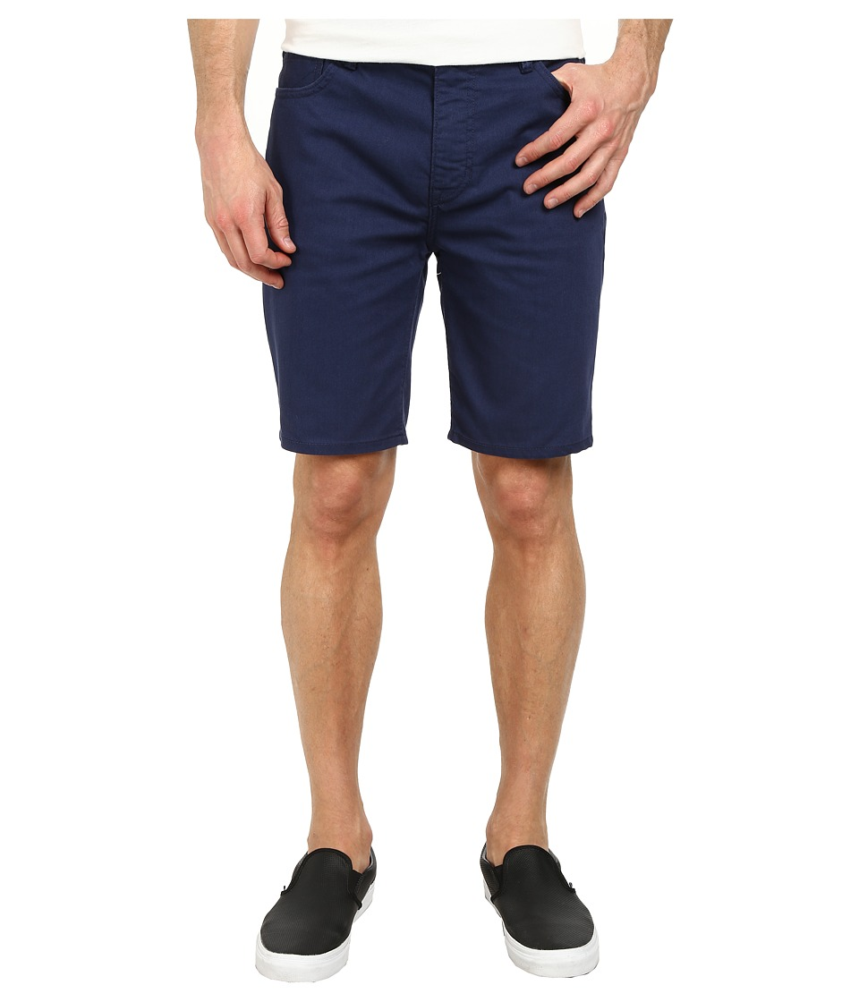 Hurley - 84 Slim Twill Shorts (Midnight Navy) Men's Shorts