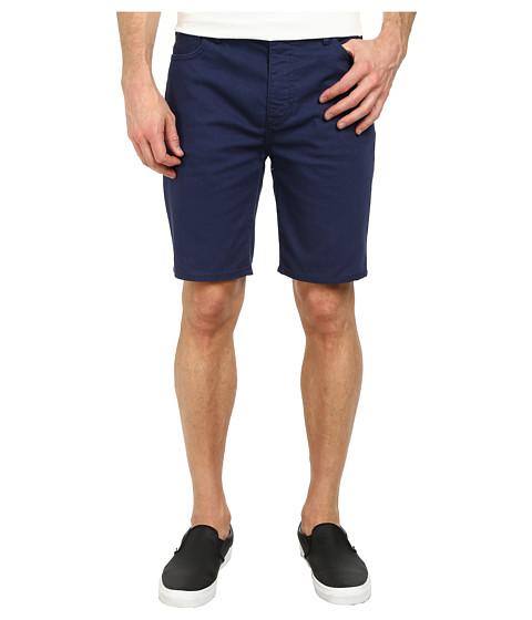 Hurley - 84 Slim Twill Shorts (Midnight Navy) Men's Shorts