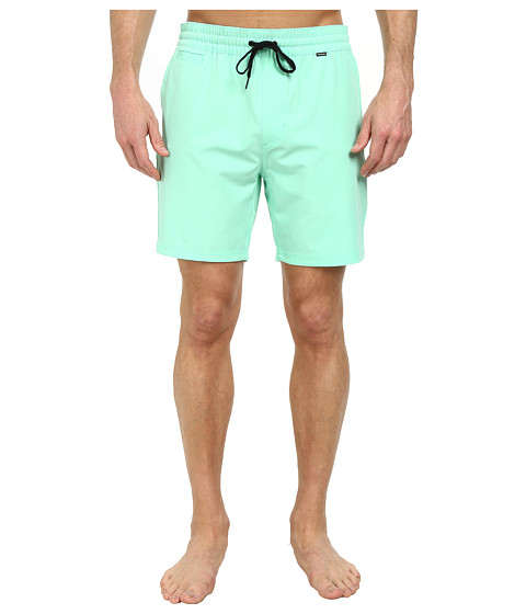Hurley - Phantom One and Only Volley Shorts (Green Glow) Men's Shorts