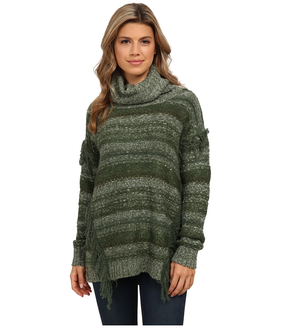 kensie - Cozy Multi Yarn Sweater KS0K5840 (Fern Combo) Women's Sweater