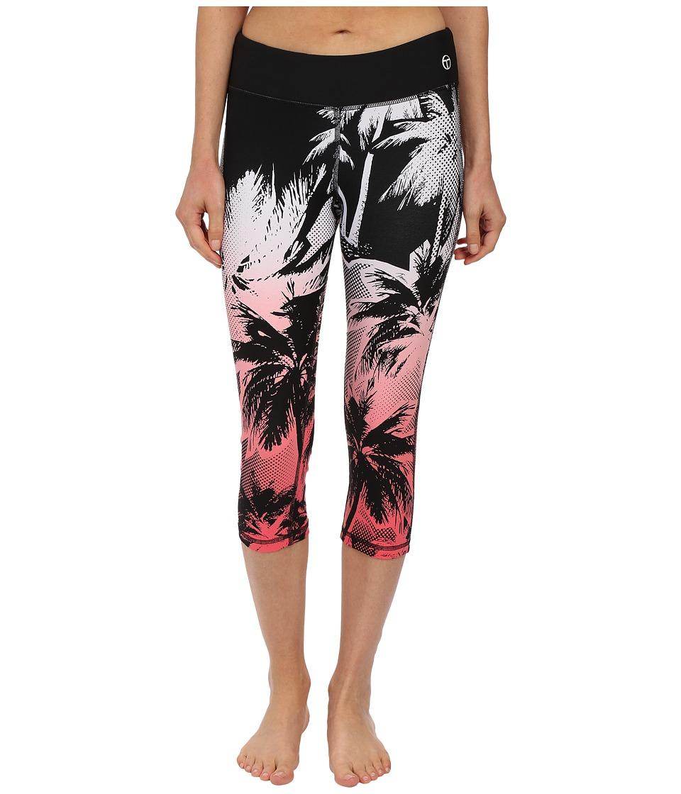 Trina Turk - Palm Beach Mid-Length Leggings (Tigerlily) Women