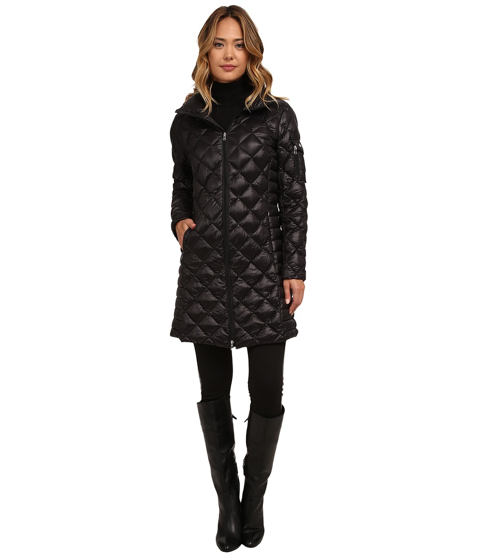 LAUREN Ralph Lauren - 3/4 Walker (Black) Women's Coat