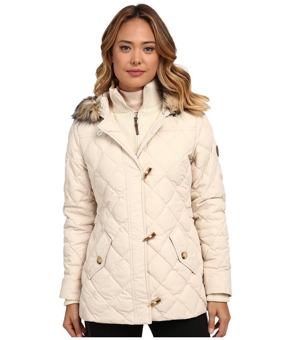 LAUREN Ralph Lauren - Knit Vesty Toggle (Moda Cream) Women's Coat