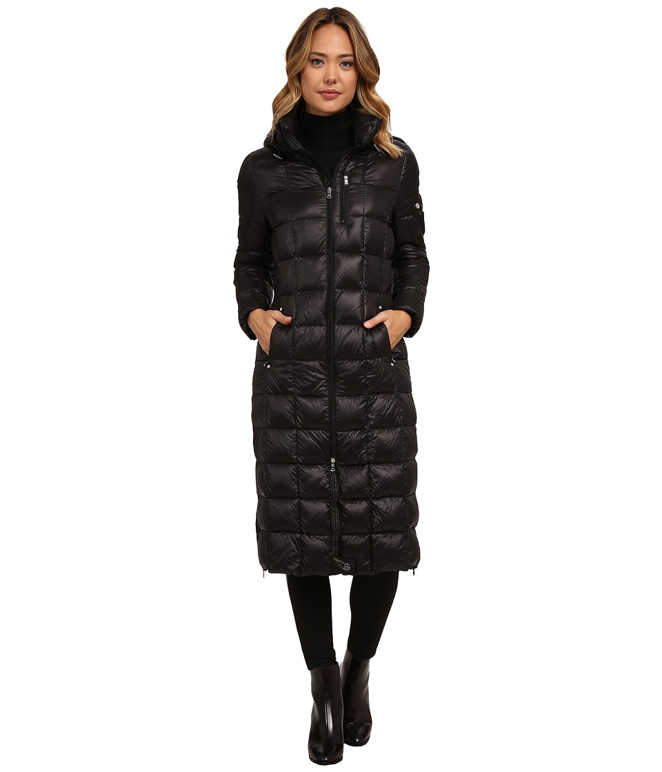 LAUREN Ralph Lauren - Maxi w/ Removable Hood (Black) Women