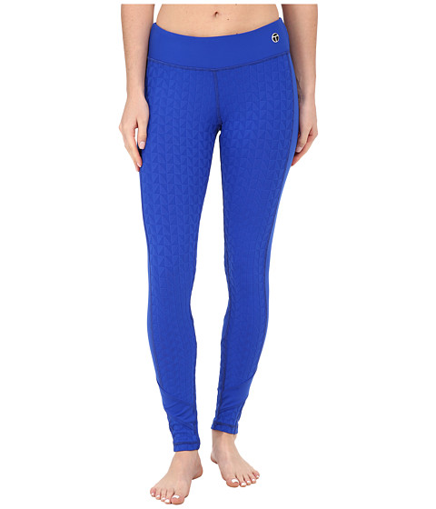 Trina Turk - Bermuda Triangle Full-Length Leggings (Azul) Women's Workout