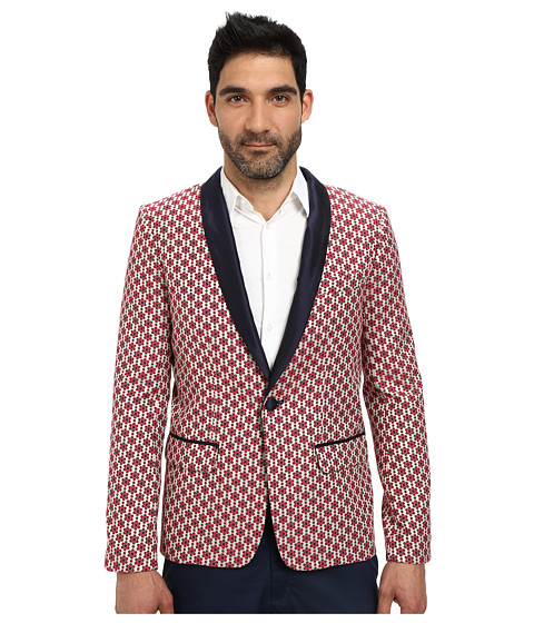 Mr.Turk - Gregory Blazer (Red) Men's Jacket
