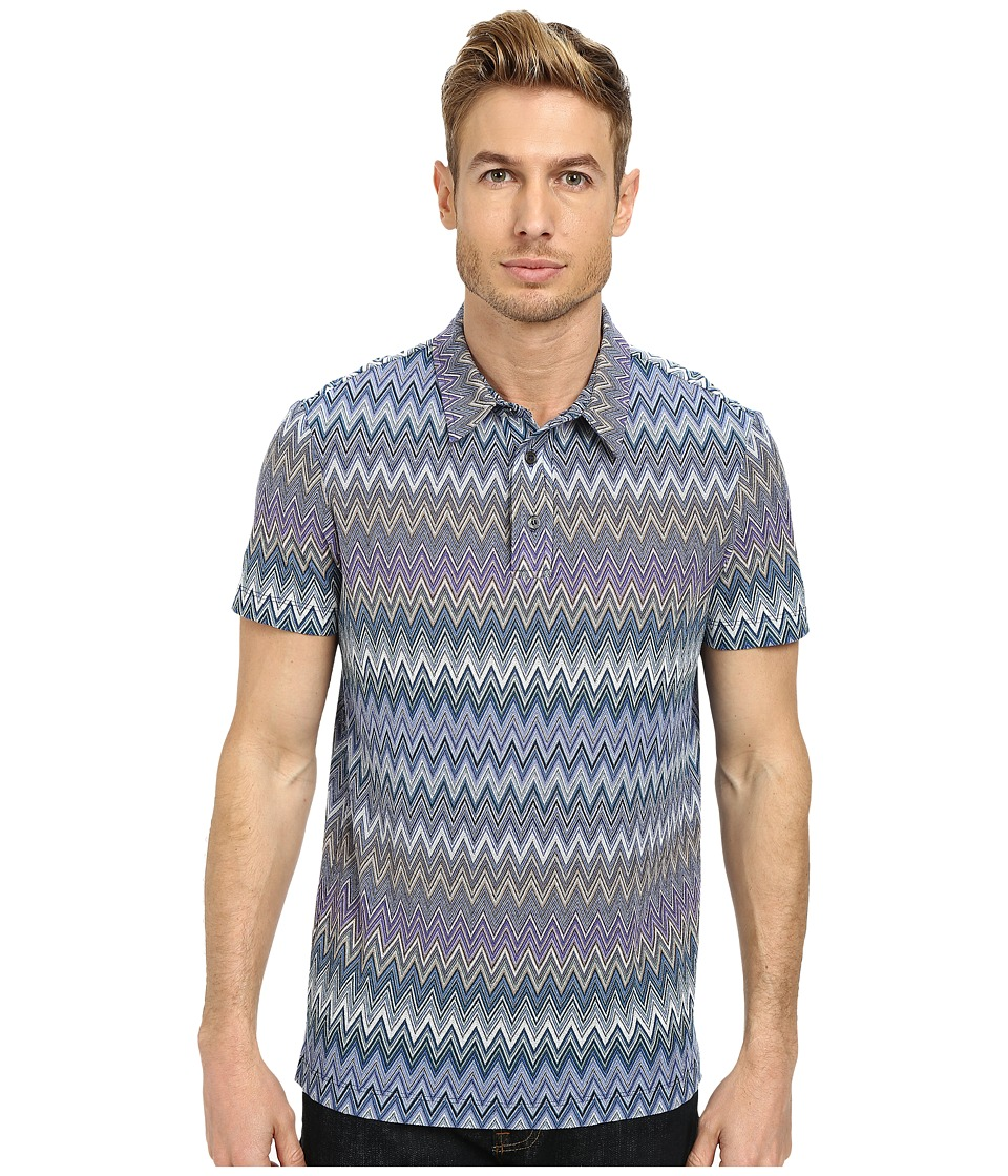 Mr.Turk - Lance Polo (Blue 1) Men's Clothing