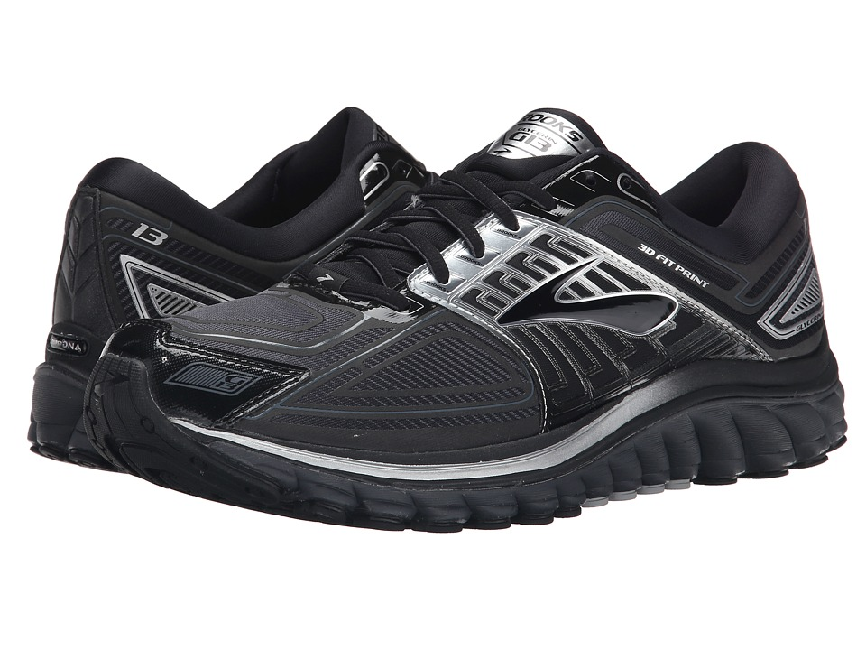Brooks - Glycerin 13 (Black/Anthracite) Men's Running Shoes