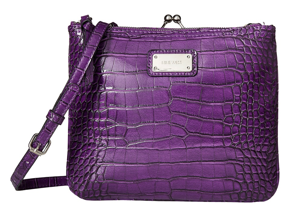 Nine West - Jaya Crossbody (Mulled Berry) Cross Body Handbags