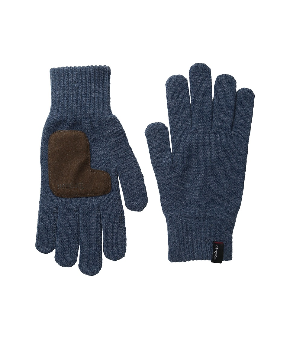 Brixton - Butcher Gloves (Denim) Extreme Cold Weather Gloves