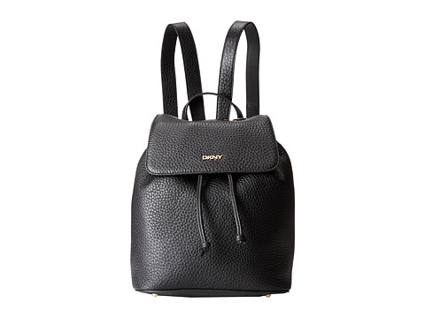 DKNY - Tribeca - Soft Tumbled Backpack (Black) Backpack Bags