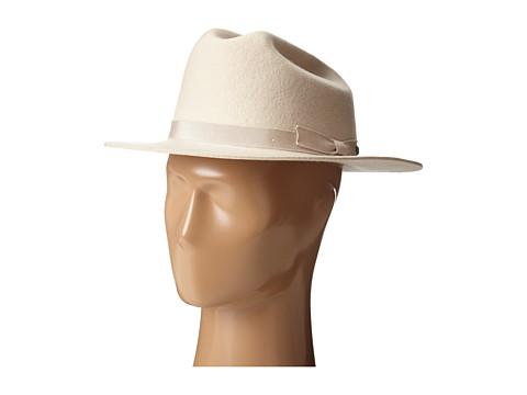 Brixton - Coburn Fedora (Cream) Fedora Hats
