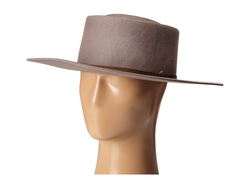 Brixton - Strider Fedora (Taupe) Fedora Hats
