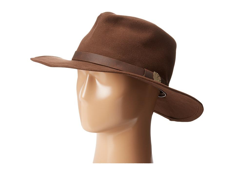 Brixton - Thorpe Fedora (Brown) Fedora Hats