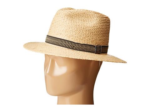 Brixton - Tyler Fedora (Tan) Fedora Hats