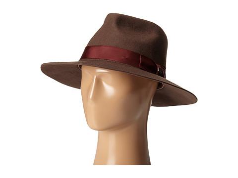 Brixton - Lopez Fedora (Brown/Rust) Fedora Hats