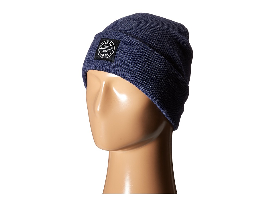Brixton - Oath Watch Cap Beanie (Denim) Beanies