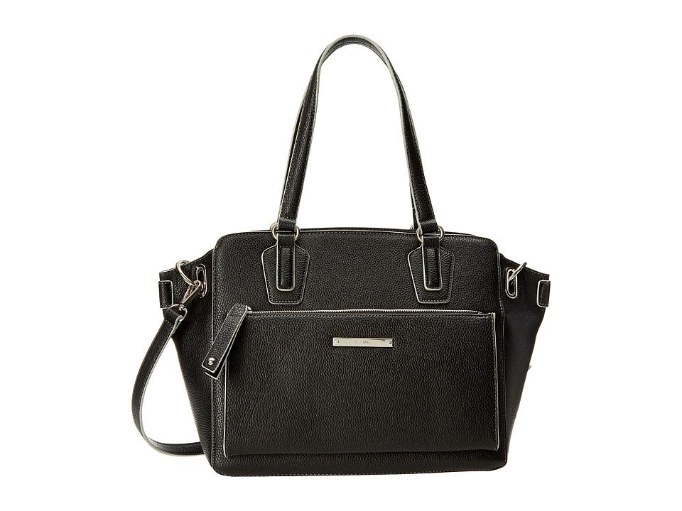 Nine West - Zip and Go Tote (Black) Tote Handbags