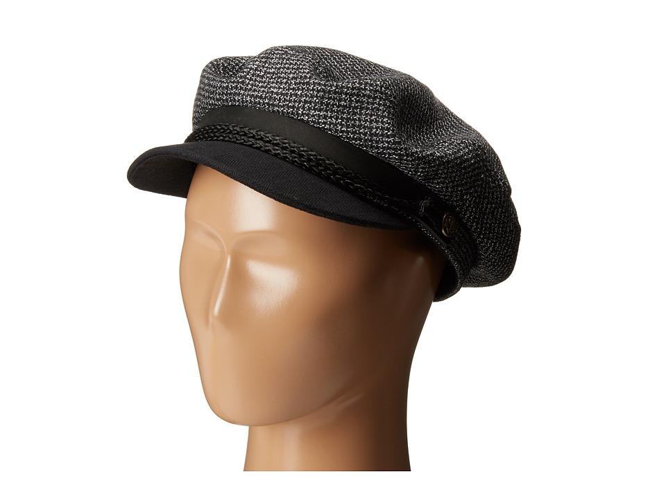 Brixton - Fiddler Cap (Black/Grey) Caps