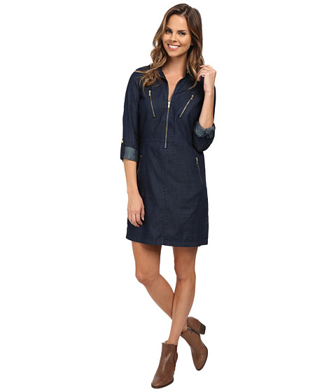 Calvin Klein Jeans - Utility Dress (Faded Steel) Women's Dress