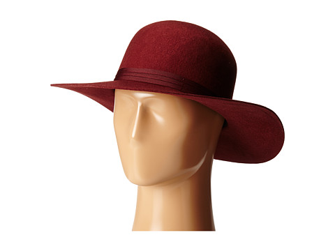 Brixton - Magdalena Hat (Burgundy) Traditional Hats