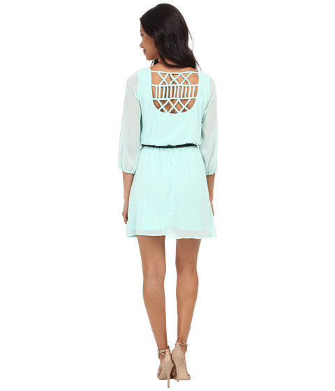 Gabriella Rocha - Sunday Belted Dress (Mint) Women's Dress